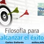FILOSOFIA Para El Exito…