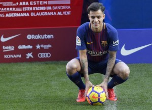 Foto: Philippe Coutinho (AFP)