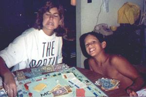 Jeff and I, circa 1987.