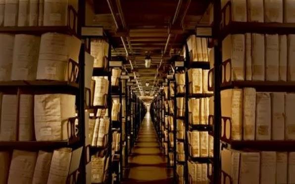 The Vatican Secret Archive.  Courtesy of The Vatican Secret Archives, Vdh Books
