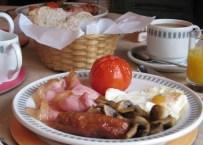 Breakfast at Exmoor House in Wheddon Cross