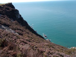 South West Coast Path - Heddon Valley