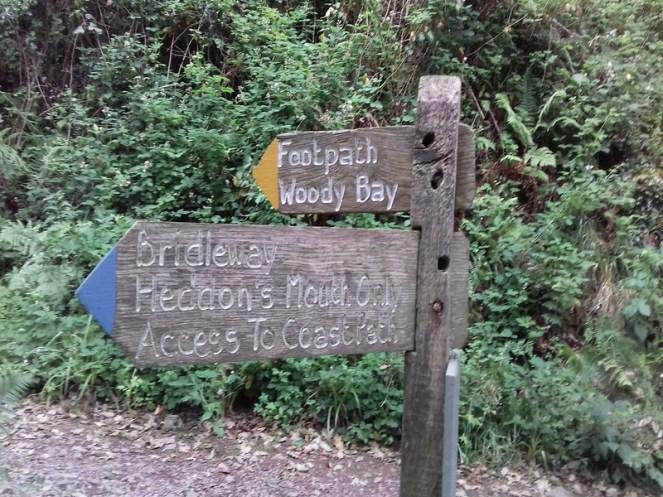 Heddon Valley Paths