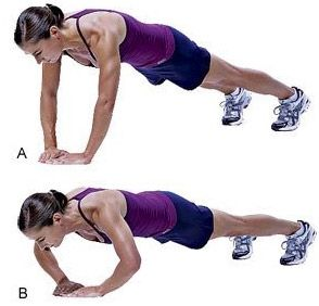 Push-ups, how to get lean strong arms