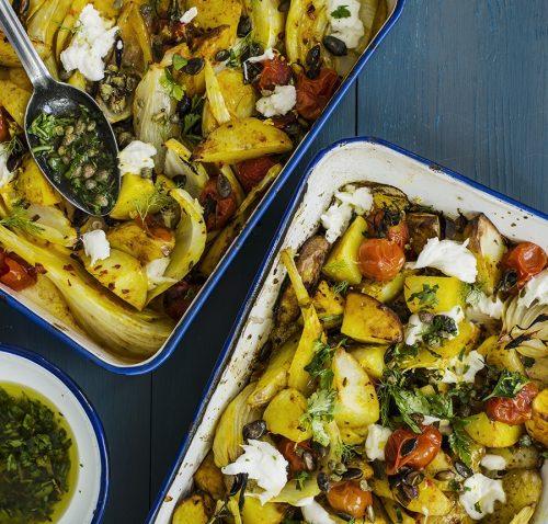 lemon roast vegetables