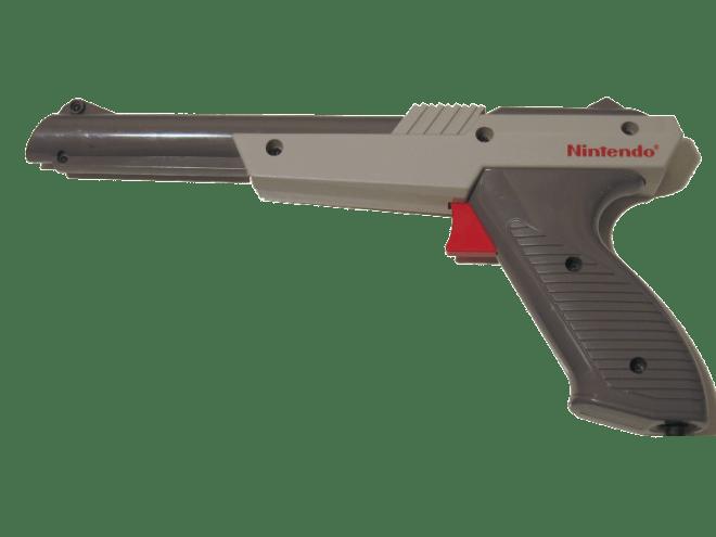Nintendo zapper: Fun toy or insidious military training tool?
