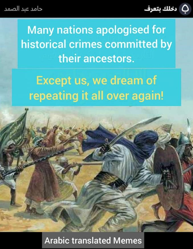 history genocide killings conversions religion of peace apologise crimes