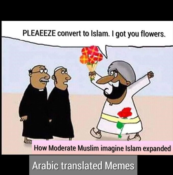 moderate muslim flowers conversion expansion spread history