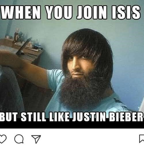 ISIS funny justin bieber cool apologist moderate islamists