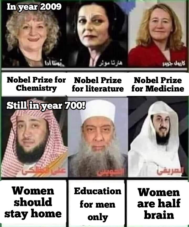 Women in Islam are like