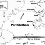 Port Chatham, Alaska Map