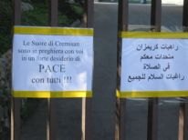 16. Cremisan sisters with peace for all