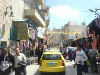 Dheisheh refugee camp; a five minute taxi ride from the Church of The Nativity