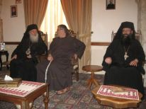 05. visit of Greek Orthodox monks because of our Easter
