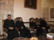 13. visit of Armenian Orthodox monks because of our Easter