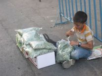 10. a young salesman