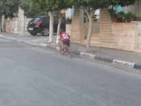 11. a young cyclist