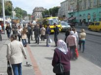 04. in the centre of Lviv