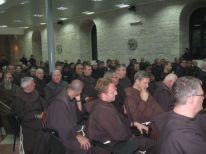 11. friars gathered for the minister general