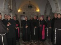 09. the patriarch is leaving, fifth from left