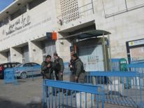 13. security on Orthodox Christmas in front of Peace Centre