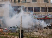 01. teargas near Azza camp