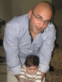21. Wisam and his son Kareem