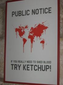 07. ketchup instead of blood