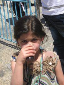 13. a Palestinian girl
