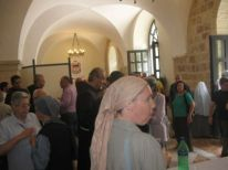 16. many people at the Curia