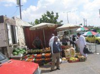 19. market near checkpoint