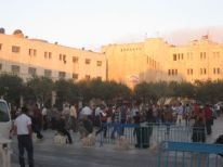 05. prayer on the first day of Eid Al Fitr on Manger Square