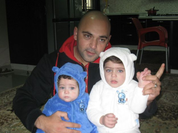 09. Wisam with Omar (l) and Kareem
