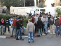 06. gathering of young people going to martyr Srur Abusrur in hospital