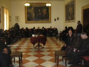 01. Greek Orthodoxe monks visit us