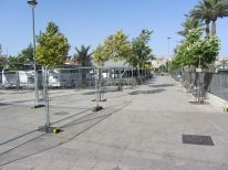 13. fences to the bus station because of Friday prayer during Ramadan