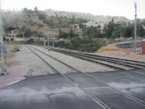 11. rails between Tel Aviv (l) and Jerusalem