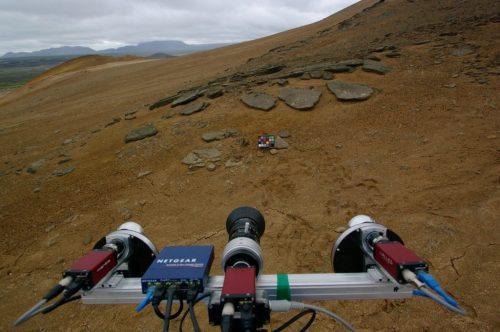 AUPE2 yn Namafjall, Gwlad yr Ia yn 2013