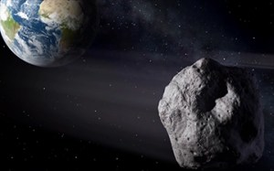 JPL/NASA graphic of Asteroid 2012 DA14