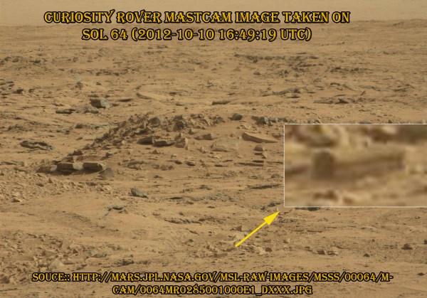 coffin on Mars
