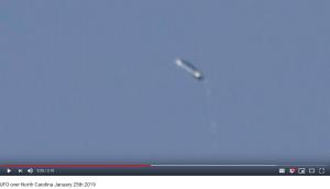 Strange 'Pill-Shaped' Object Seen Pulsing in NC Sky Ignites UFO Debate