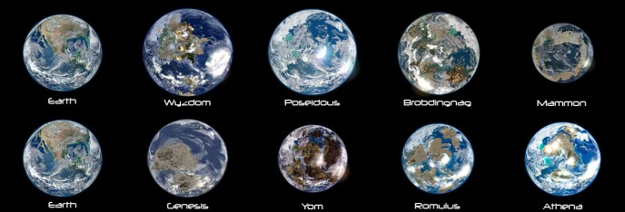 Possible Exoplanet Colonies of the 24th Century