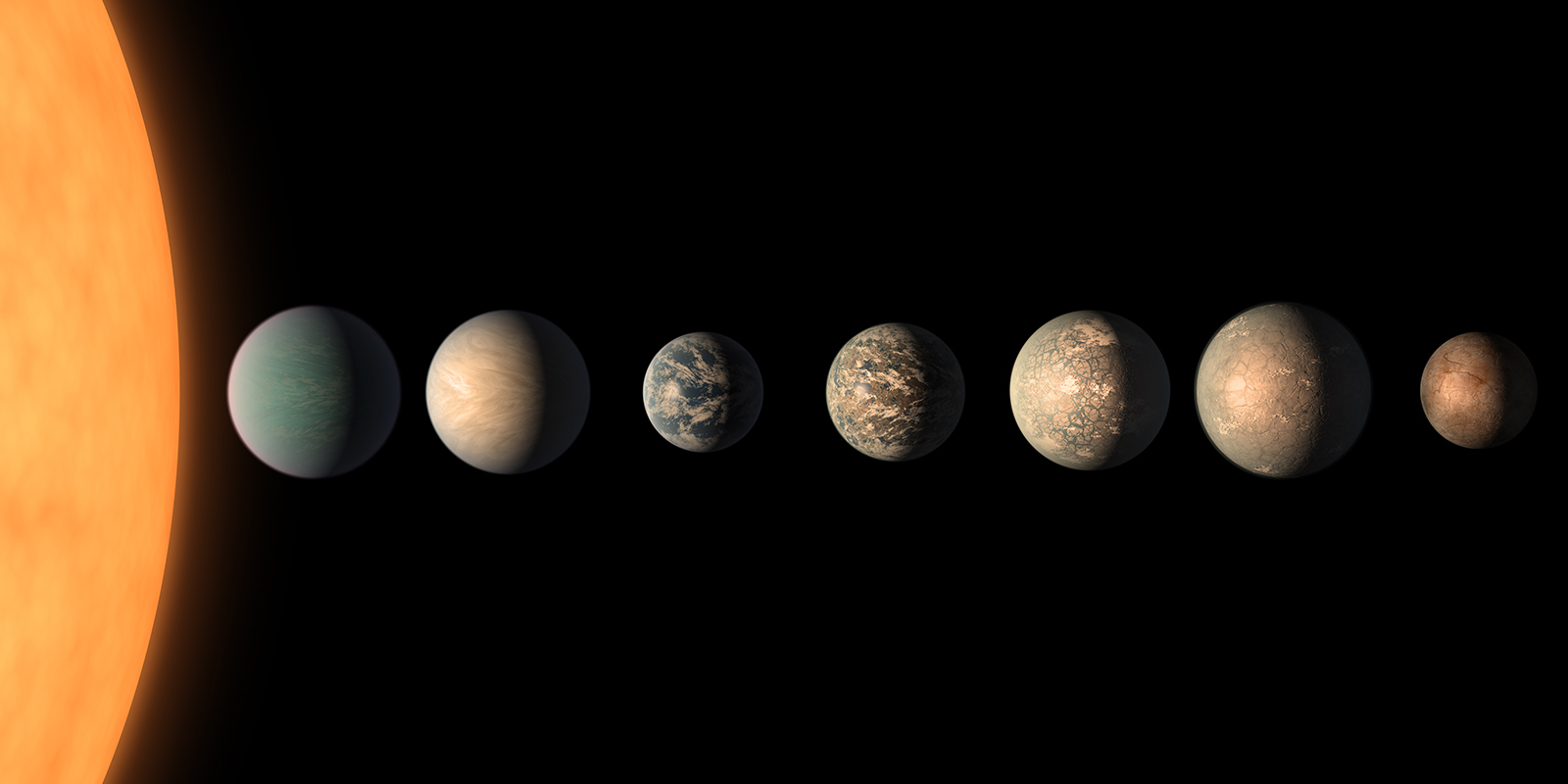 New Clues To Compositions Of Trappist 1 Planets
