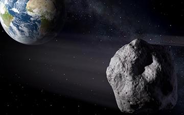 JPL/NASA graphic of Asteroid 2012 DA14