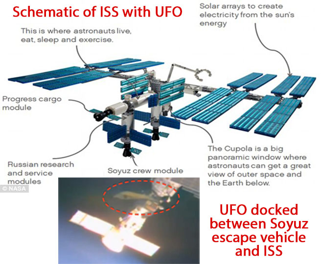 More Nasa Footage Of Ufo Docked At International Space Station