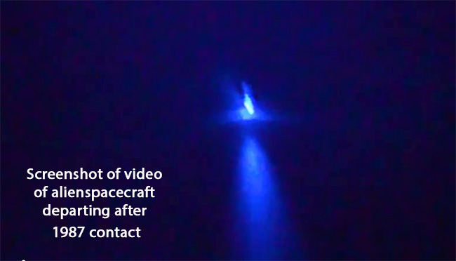 UFO departs after contact-650