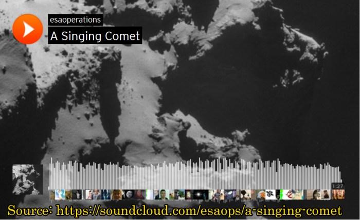 ESA Singing Comet