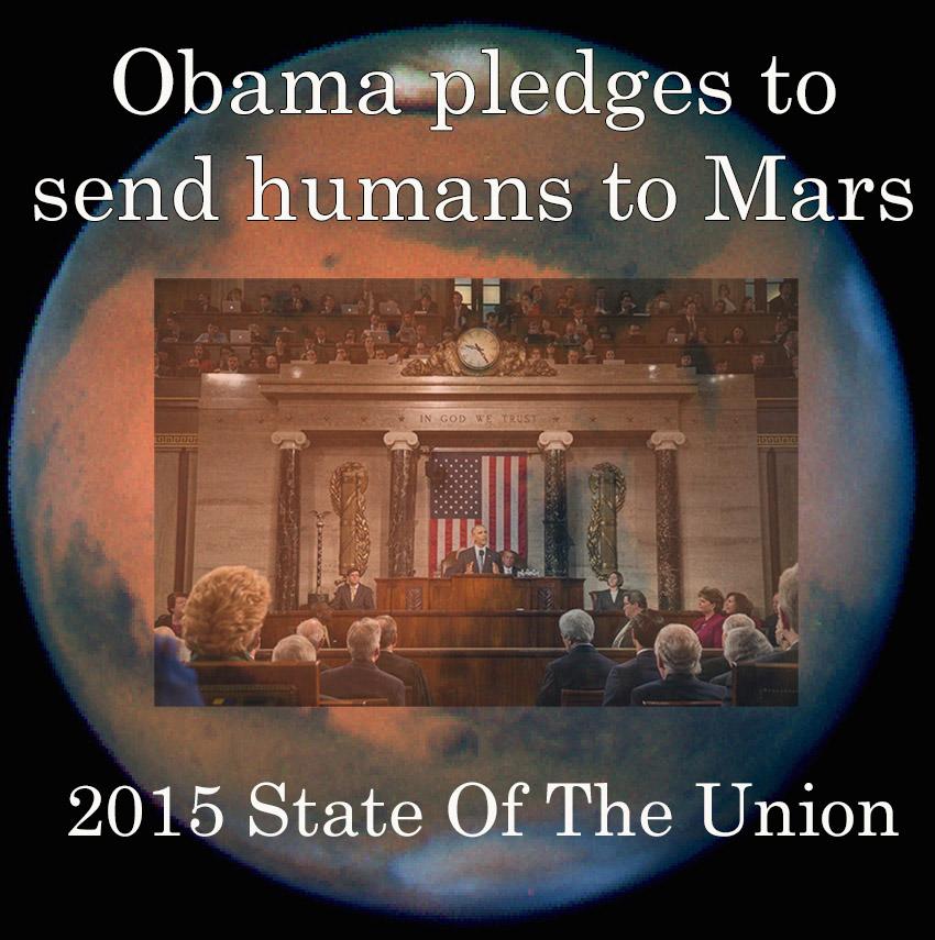 Obama to put humans on Mars