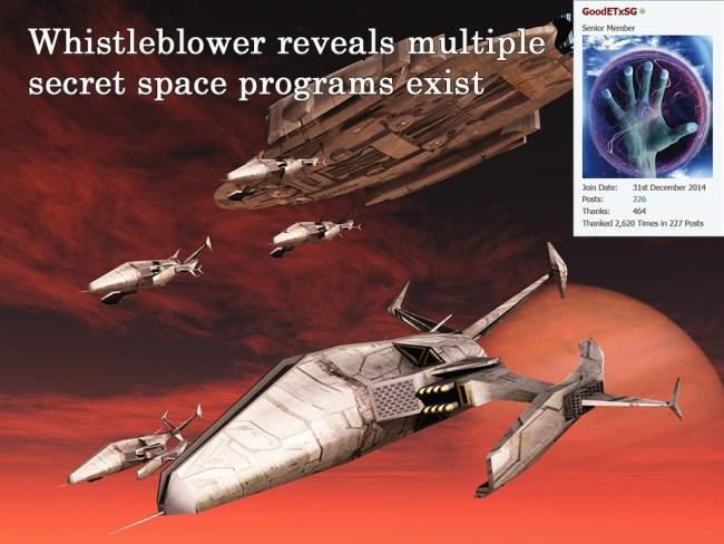 multiple secret space programs