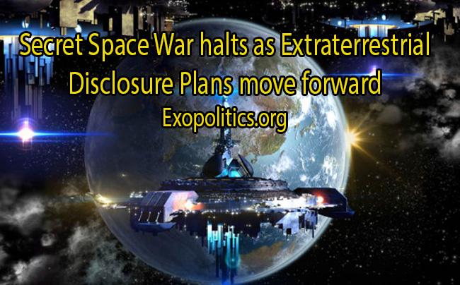 Space Wars halt with disclosure